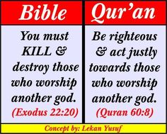 Bible vs Qur'an